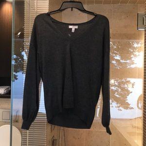 asos grey long sleeve shirt